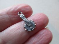 Antique Vintage Sterling Silver Banjo Guitar Bracelet Charm Pendant Old Uk -  - ebay.co.uk