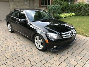 Mercedes C300 4 matic Luxury package