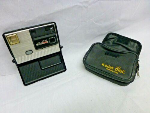 Kodak Disc 4100 Camera With Carry Case Vintage 1980