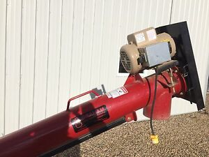 Graham seed treatment auger