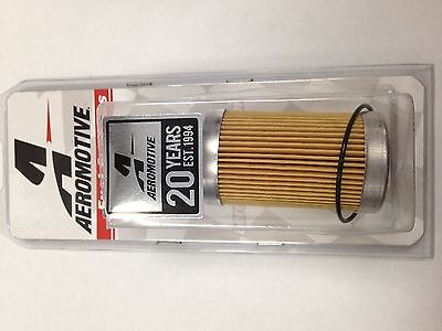 - Aeromotive 12601 10 Micron Fuel Filter Replacement Element