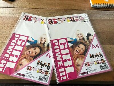 Spice Girls Notebooks