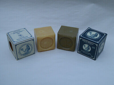 French Marius Fabre Marseille Soap - 100g Cube Soap - Olive Olive French Soap