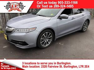 2015 Acura TLX V6 Tech Package, Leather, Sunroof, AWD