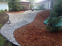 Landscaping construction service