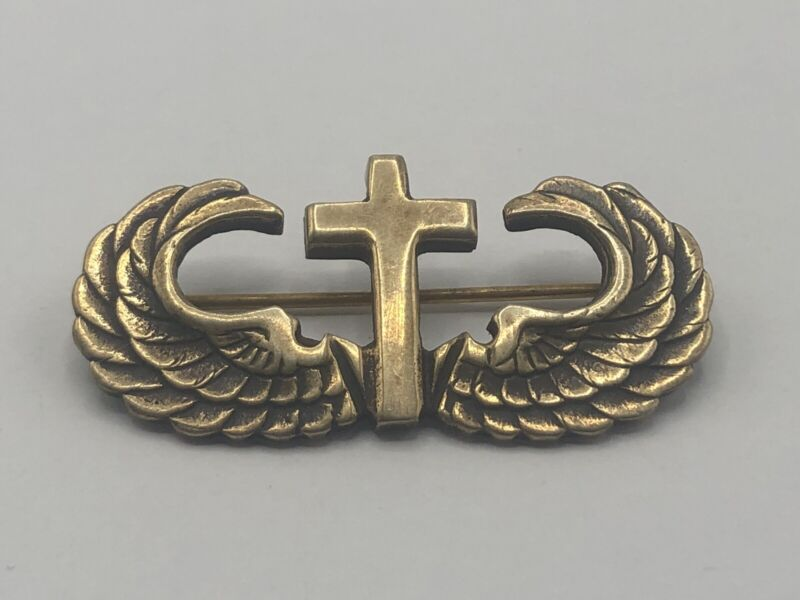 US. Airborne Chaplain Jump Wings Sterling Marked