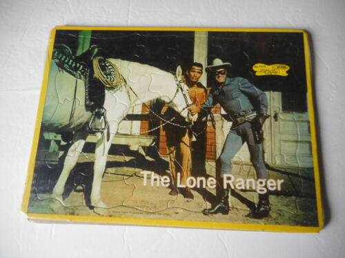 The Lone Ranger (2) Tray Puzzles (New old stock) 1978