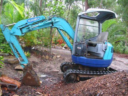 Kubota RX 302 excavator