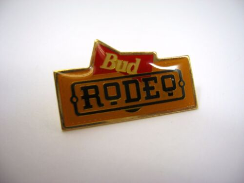 Vintage Collectible Pin: BUD RODEO Budweiser Beer