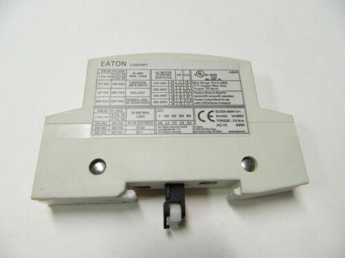 NEW EATON C320PRP1, Lighting Contactor, Single Pole, 30A