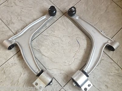 VAUXHALL VECTRA C 02- TWO FRONT LOWER WISHBONE SUSPENSION ARMS JOINTS & BUSHES