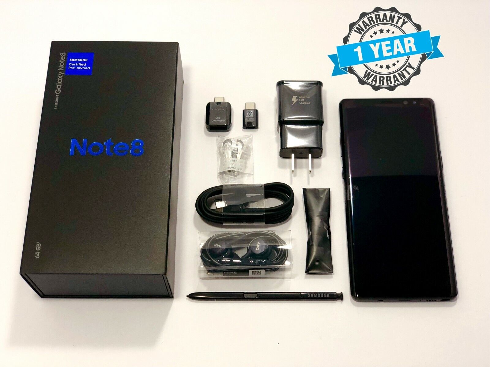 Samsung Galaxy Note 8 Factory Unlocked 64GB AT&T Sprint T-Mo