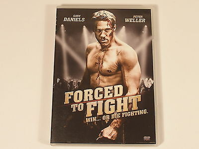 DVD - Gary Daniels - Peter Weller - Forced to Fight  - FSK 18