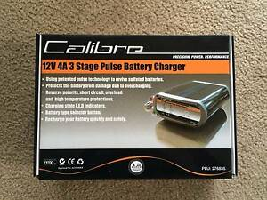 Calibre 12V 6A 3 stage pulse battery charger South Melbourne Port Phillip Preview