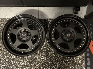 Pair of Rota Kyusha 15x7 Wheels