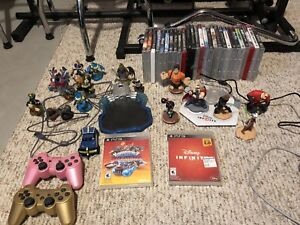 Ps3 with 2 controllers and 29 games