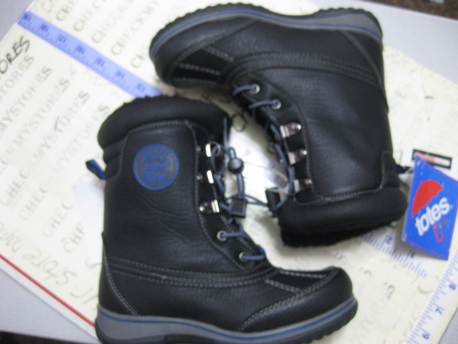 NEW  Boys Totes Kids BARRY Waterproof Boot  THERMOLITE Warm CHOOSE SIZES