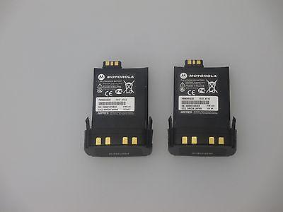 X 2 Pcs Oem Motorola Pmnn4403b 2150mah Battery Apx7000