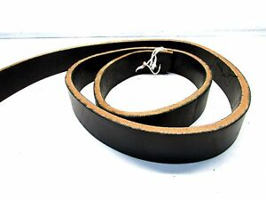 cox leather 1 1 2 quot wide black harness leather thick belt