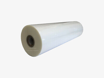 Thermal Laminating Film Roll Glossy 12in X 500ft X 1.5 Mil 1in Dia Core
