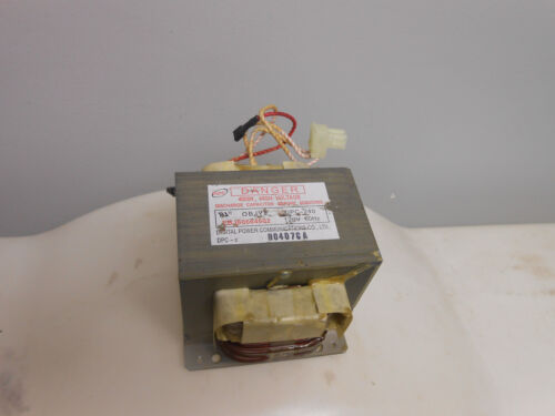 New GE General Electric Microwave Oven High Voltage Transformwer WB24X25398