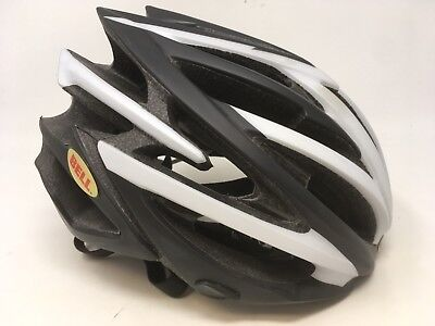 NEW BELL VOLT RACE Matte Black & White Helmet SM Small 51cm-55cm NEW IN BOX