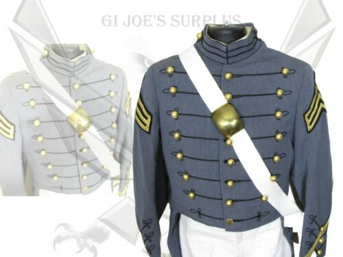 Military Academy West Point Dress Parade Tails Uniform Cross Belt Trousers AJ