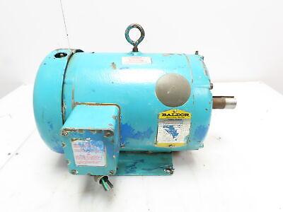 Baldor Electric Motor 7.5 Hp 208-230460 Vac 1725 Rpm 213t 3 Phase