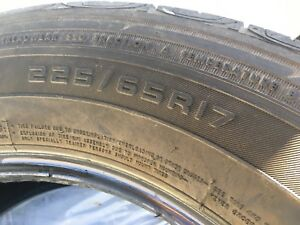 Set of Firestone Destination tires