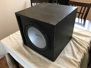 "12"" Sub and 400w Pioneer Amp"