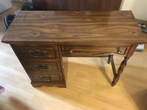 Wood Secretary Desk