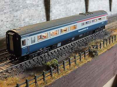 2P-005-012DCC NEW DAPOL N GAUGE MK3 BUFFET COACH BLUE GREY W40435 HST for sale  Shipping to Ireland