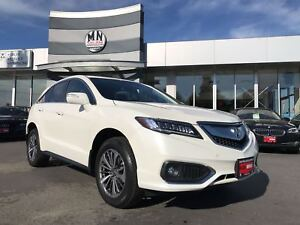 2017 Acura RDX ELITE PACKAGE! V6, AUTO **45,000KMS**