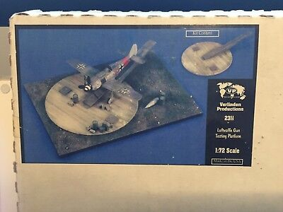 VERLINDEN Productions Luftwaffe Gun Testing Platform 1:72 Scale 2311