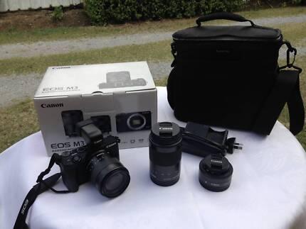 Canon EOS M3 Mirrorless Superior Camera Kit