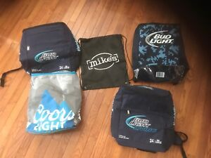 Bud Light/Coors Light/Mike's Cooler Bags