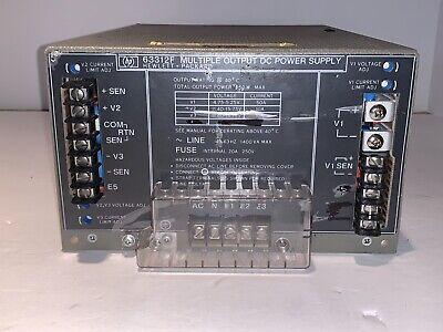 Hp 63312f Dual Output Dc Power Supply 12v 20 Amp
