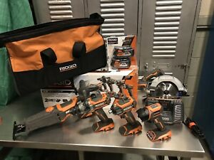 Ridgid Gen 5 | 5 Piece Combo Kit ( Like New )