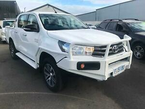 2015 Toyota SR Hilux D/Cab Turbo-Diesel 6 Speed Manual 4X4 Invermay Launceston Area Preview