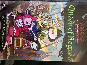 Queen Of Rogues Adventure Time Chapter Book