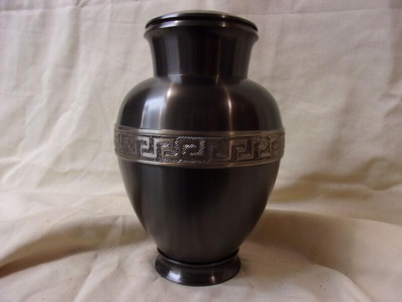 Cremation Urn Adult, Ash Urn, Human Ash Urn, Metal, New