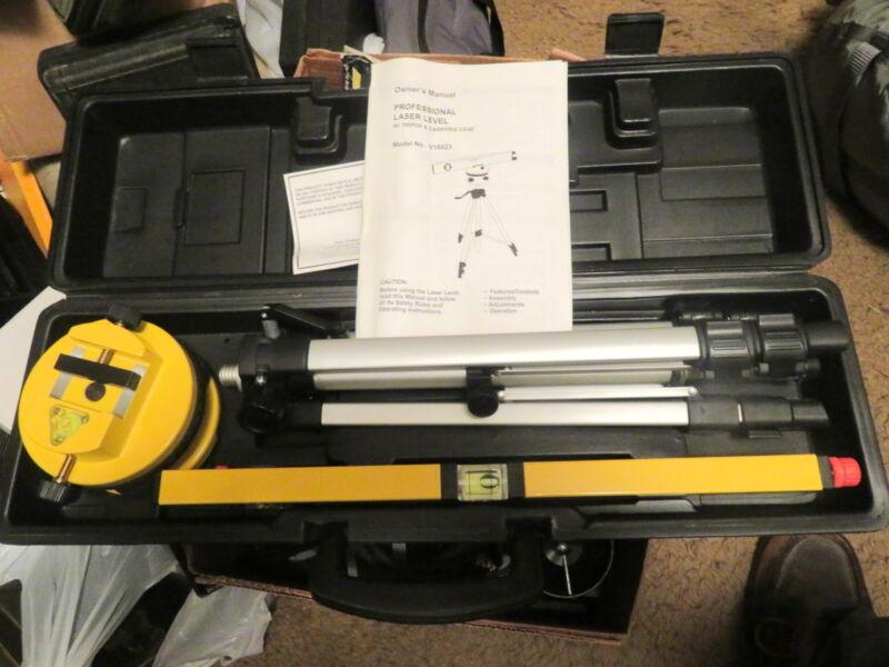 SK Enterprises Professional Laser Level, Tripod, Case
