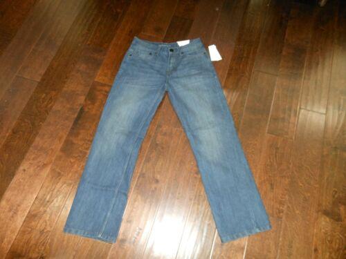 NWT CALVIN KLEIN JEANS Slim Fit Straight Authentic Jeans Size 16 (28 x 30) Dark