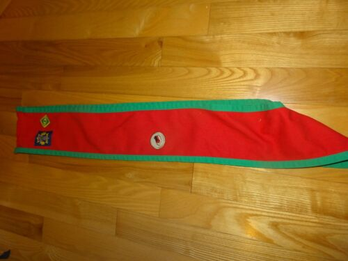 Scout Sash - Salvation Army - Scouts Canada 3 total badges