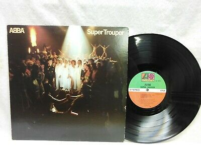 "ABBA ""SUPER TROOPER"" 1980 LP RECORD~ATLANTIC SD 16023"
