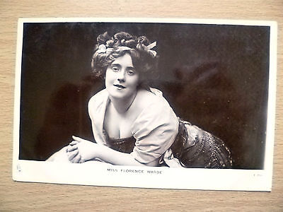 1900s Real Photo Postcard- Actress MISS FLORENCE WARDE, No. T.756