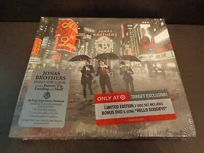A LITTLE BIT LONGER by THE JONAS BROTHERS-Target Excl Limited Edition 2Disc/wDVD