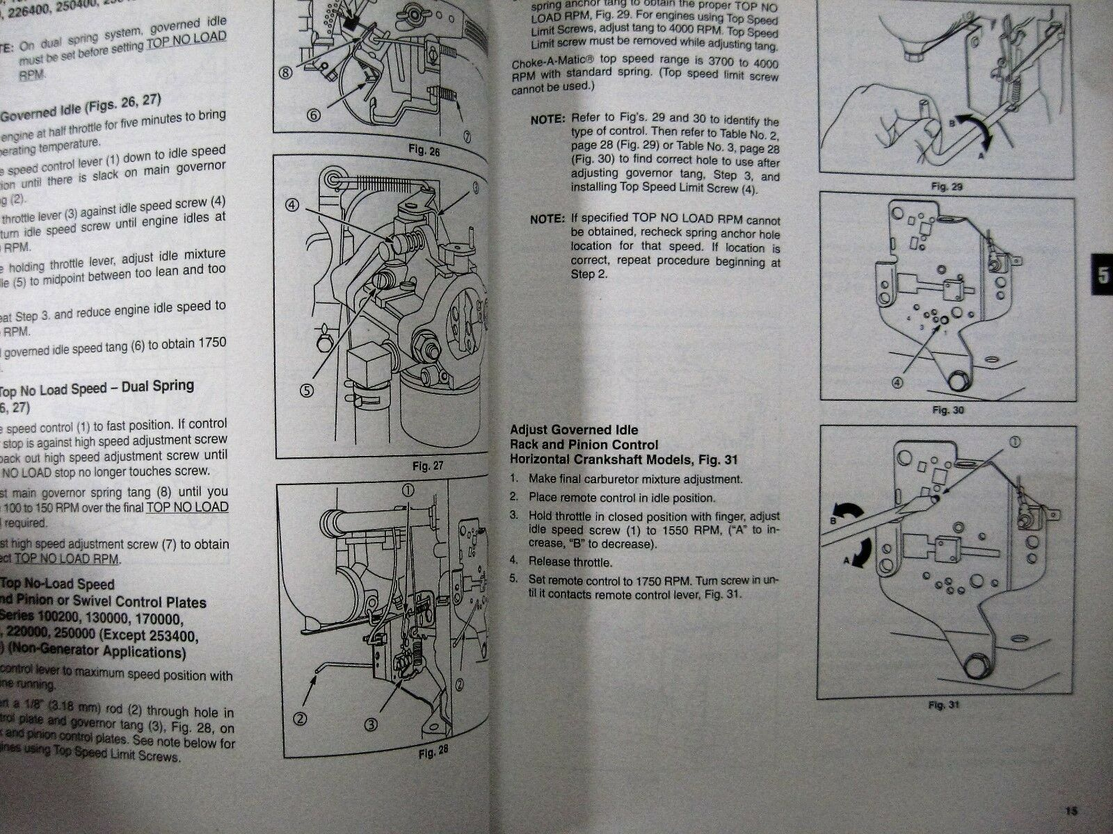 2 of 3 Briggs & Stratton Single Cylinder L Head Repair Manual