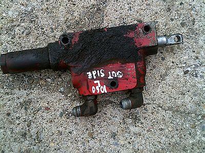 Farmall 1066 966 1086 Tractor Ihc Ih L Hydraulic Outlet Remote Box Control Valve