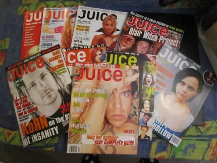 9 X Juice Magazines ***NEW***
